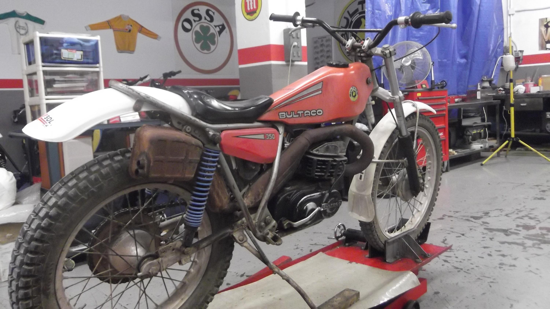 BULTACO SHERPA 199 – Restauración Moto Clásica – Juan Carlos Caño